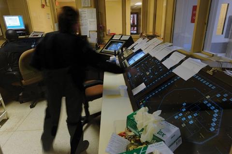 Alamance County detention facility command center   endeavors