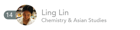 Ling Lin, Chemistry and Asian Studies