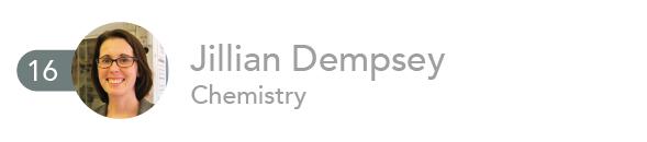 Jillian Dempsey, Chemistry