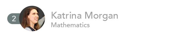 2. Katrina Morgan, Mathematics.