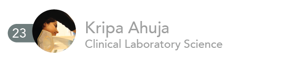 Kripa Ahuja, Clinical Laboratory Science