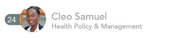 Cleo Samuel, Health Policy and Management