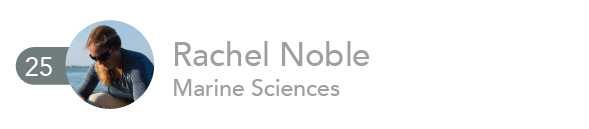 Rachel Noble, Marine Sciences