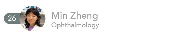 Min Zheng, Ophthalmology
