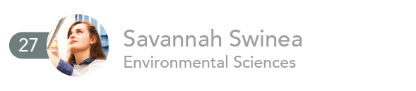Savannah Swinea, Environmental Sciences
