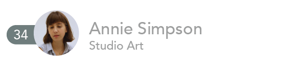 Annie Simpson, Studio Art
