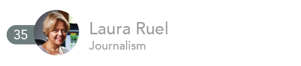 Laura Ruel, Journalism