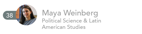 Maya Weinberg, Political Science and Latin American Studies