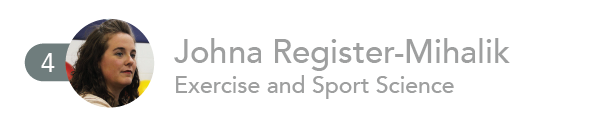 4. Johna Register-Mihalik, Exercise and Sport Science.