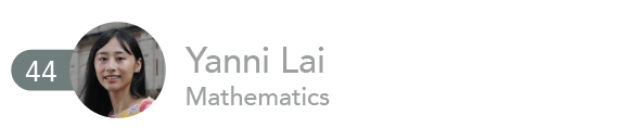 Yanni Lai, Mathematics