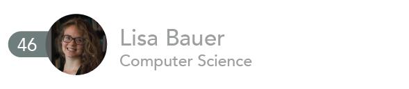 Lisa Bauer, Computer Science