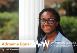 Portrait of Adrienne Bonar on campus