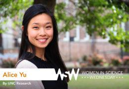 Portrait of Alice Yu on campus
