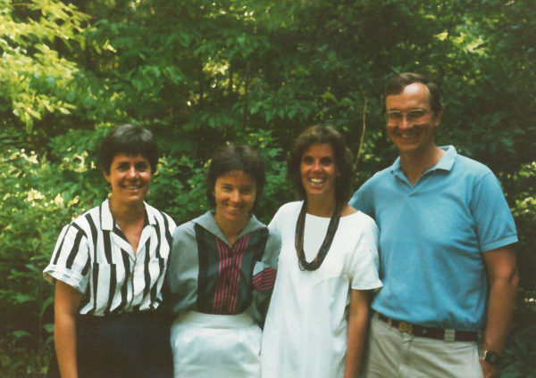 Fran Lynn, Melva Okun, Mary Beth Powell, and Pete Andrews