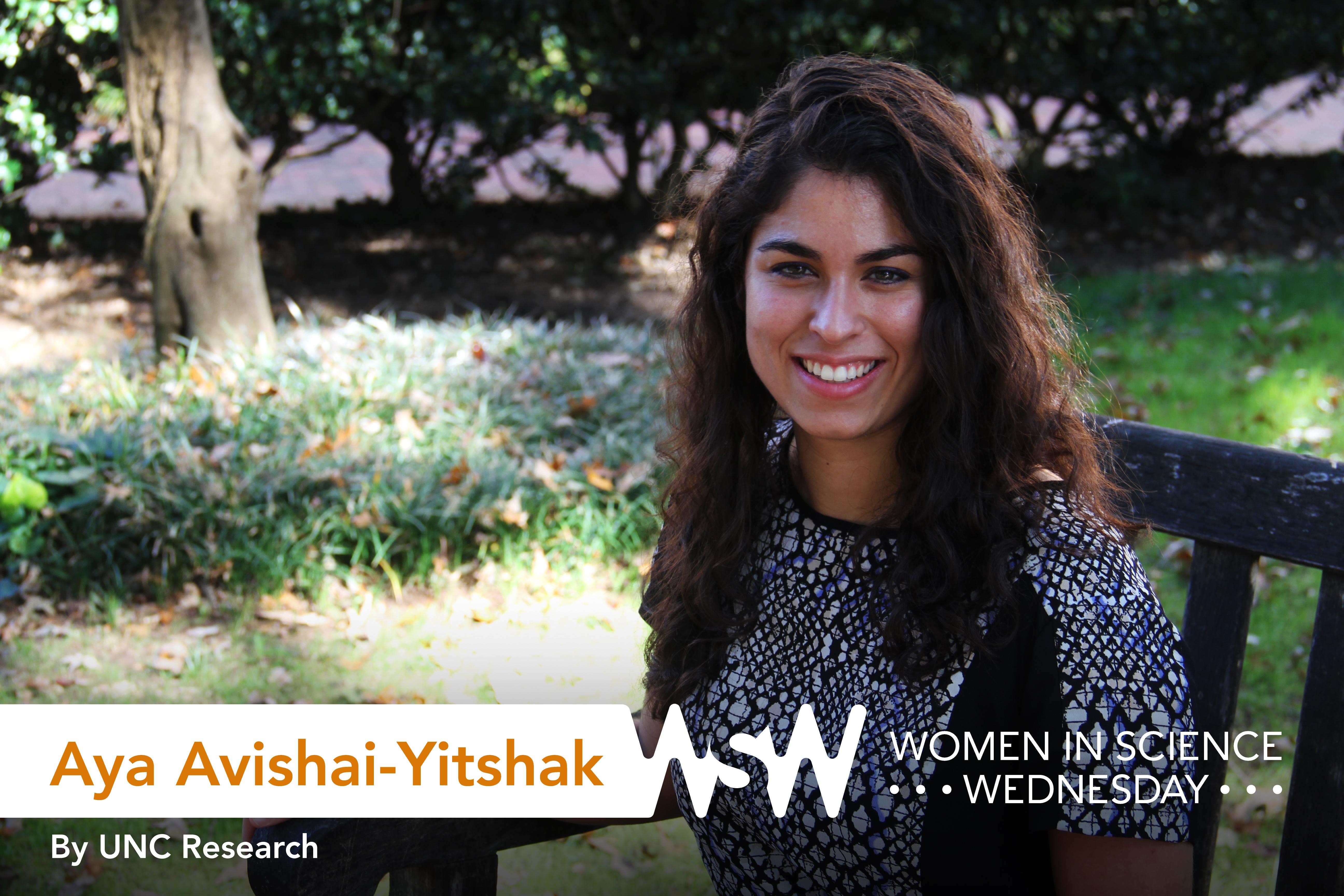 Aya Avashai Yitshak poses on campus.
