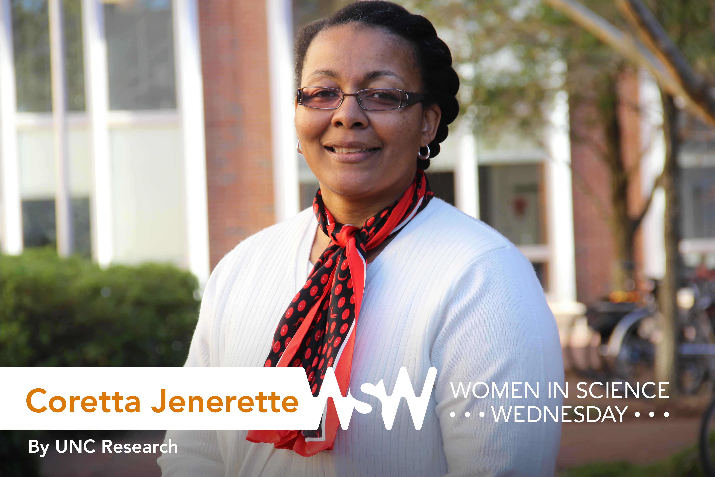 Portrait of Coretta Jenerette on campus