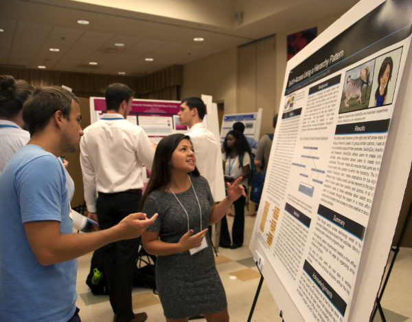 """Victoria Miller presents her findings on """"Switch-Access Using a Hierarchy Pattern"""""""