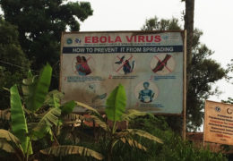 During the 2013 Ebola outbreak in Liberia, government officials placed signs across the country to convince people the virus was a real threat. But fewer than 50 percent of Liberia's population can read.