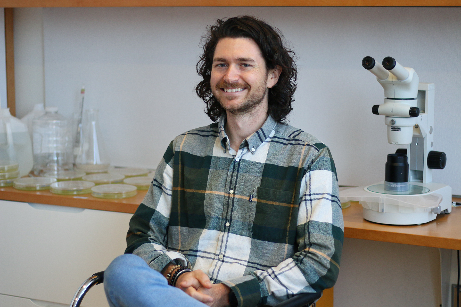 Thomas Boothby came to UNC in 2013 to uncover the resiliency of tardigrades for his postdoctoral research. He began this work in the lab of developmental biologist Bob Goldstein, who's been studying tardigrades since 1999.