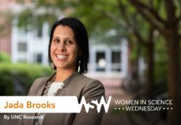 Portrait of Jada Brooks on campus