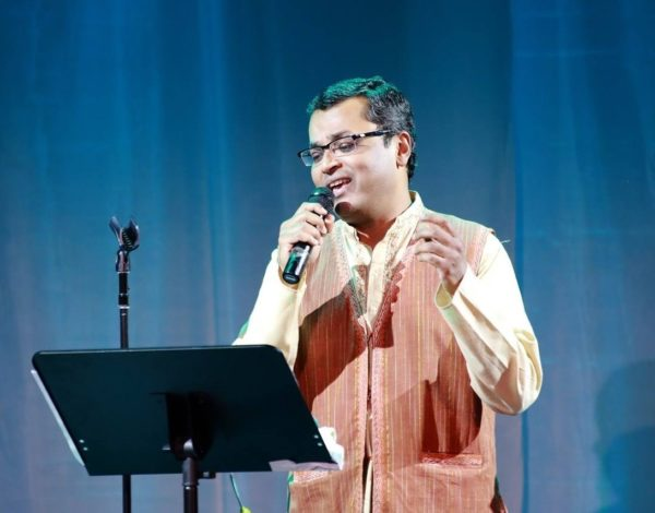 Jay Swaminathan performs a Bollywood number at the Cary Theatre