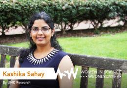 Portrait of Kashika Sahay on campus