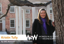 Portrait of Kristin Tully on campus
