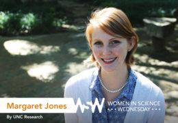 Margaret Jones poses on campus.