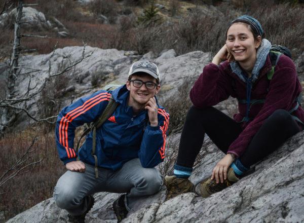Maya Weinberg and her friend Thomas