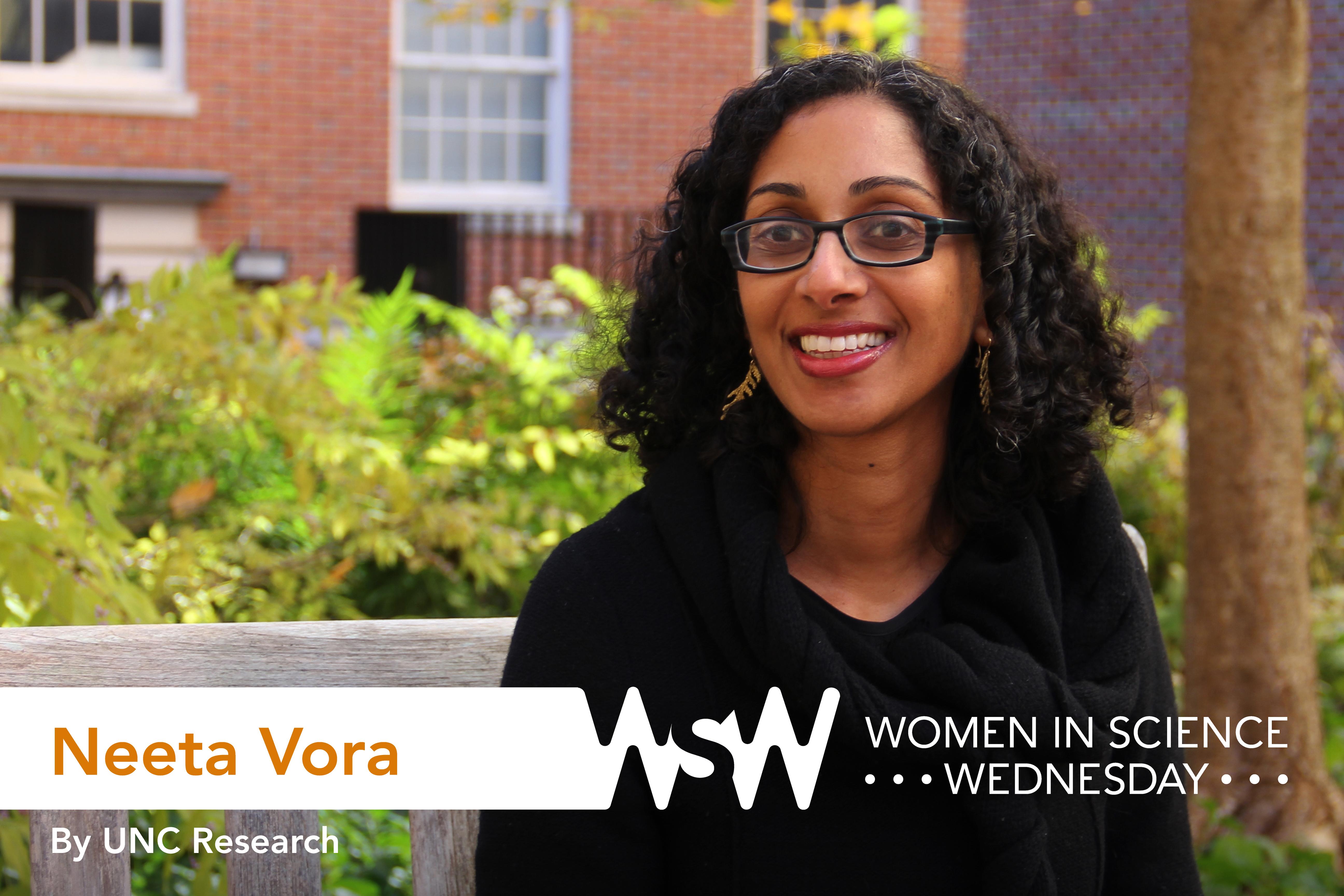 Portrait of Neeta Vora on campus