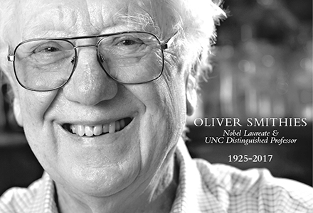 Oliver Smithies, Carolina's First Nobel Laureate, Passes Away at 91