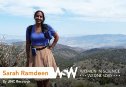 In 2014, Sarah Ramdeen visited Yosemite National Park for a research trip  that brought together geologists and computer scientists.