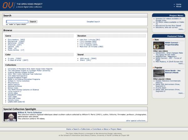 A screenshot shows a video retrieval website