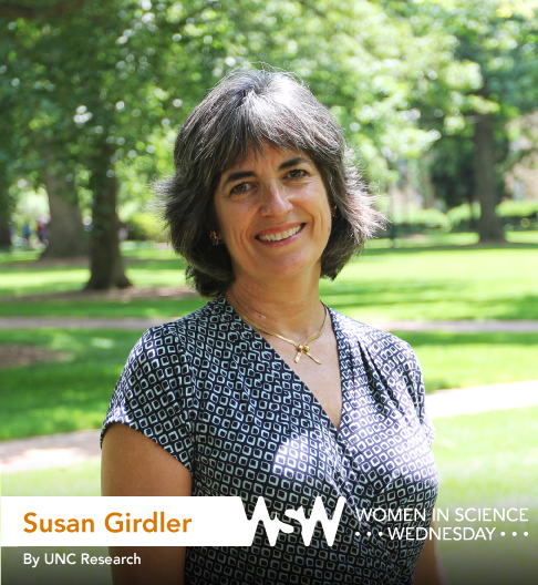 Portrait of Susan Girdler on campus