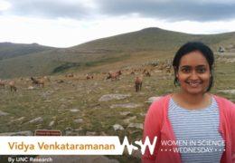 Vidya Venkataramanan poses for the camera.