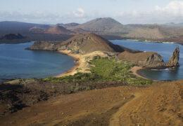 Bartolomé Island in the Galapogos Archipelago