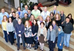 A group photo of the researchers behind the NCGENES project.
