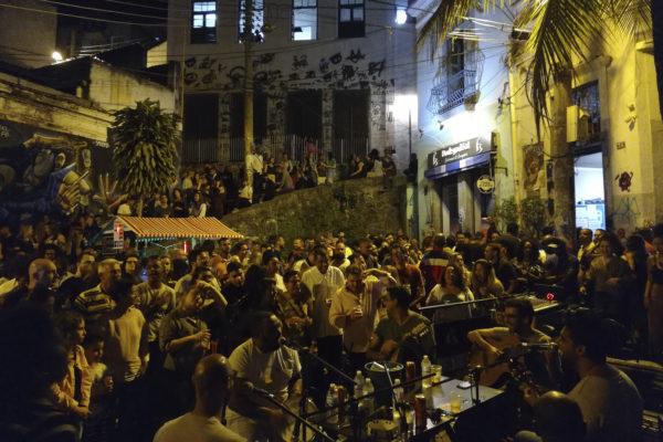 a samba space in Rio de Janeiro