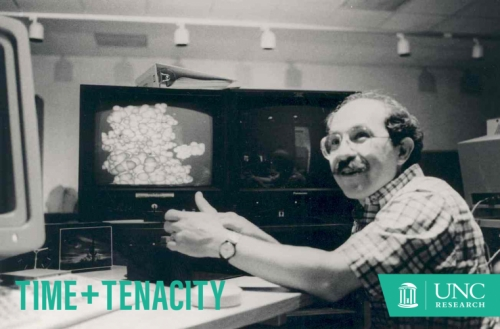 Before coming to UNC in 1978, Fuchs' background involved modeling chromosomes on graphics systems and constructing 3-D models from laser scans of people and objects.