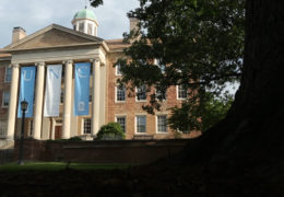South Building on UNC's campus