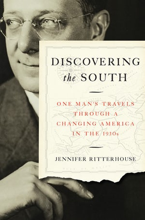 "Cover of ""Discovering the South"" by Jennifer Ritterhouse, showing a portrait of Jonathan Daniels."